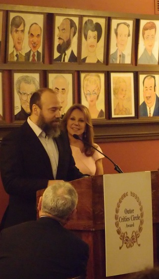 Danny Burstein with Marlo Thomas