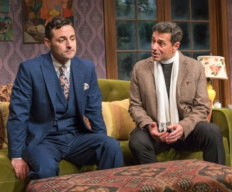 Max von Essen and Stephen Schnetzer. Photo by Richard Termine