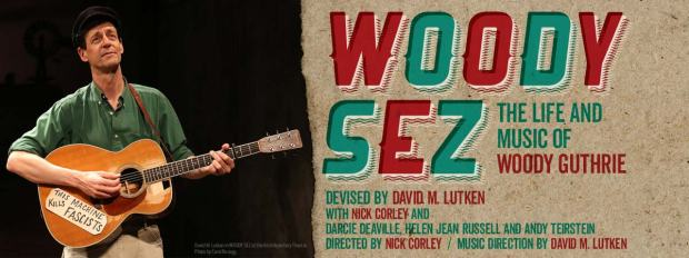 Woody Sez poster