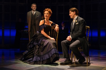 Boyd Gaines, Sierra Boggess, Andrew Veenestra. Photo by T. Charles Erickson